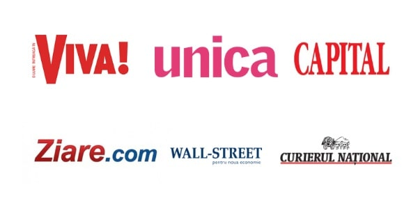 Ziare, Viva, Unica, Curierul National, Wall-street, Capital
